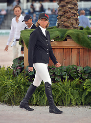 March 9, 2019 - Wellington, Florida, United States Of America - WELLINGTION, FL - MARCH 09: SATURDAY NIGHT LIGHTS: Beezie Madden participates The highlight event of week 9 at the 2019 Winter Equestrian Festival, the $391,000 Douglas Elliman Real Estate Grand Prix CSI 5*. The Winter Equestrian Festival (WEF) is the largest, longest running hunter/jumper equestrian event in the world held at the Palm Beach International Equestrian Center on March 09, 2019  in Wellington, Florida..People:  Beezie Madden. (Credit Image: © SMG via ZUMA Wire)