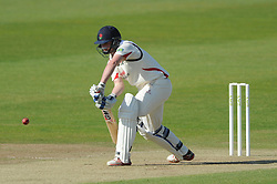 Karl Brown of Lancashire bats - Photo mandatory by-line: Dougie Allward/JMP - Mobile: 07966 386802 - 08/06/2015 - SPORT - Football - Bristol - County Ground - Gloucestershire Cricket v Lancashire Cricket Day 2 - LV= County Championship