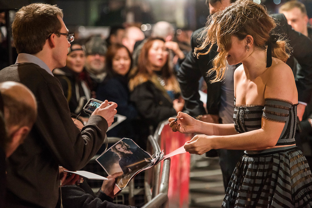 The European premiere of Pride and Prejudice and Zombies.