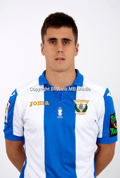 Spain - La Liga Adelante 2015-2016 / <br /> ( C.D. Leganes  ) - <br /> Unai Bustinza Martinez
