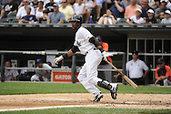 CHICAGO - JULY 27:  Alexei Ramirex #10 of the Chicago White Sox bats against Detroit Tigers on July 27, 2011 at U.S. Cellular Field in Chicago, Illinois.  The White Sox defeated the Tigers 2-1.  (Photo by Ron Vesely)  Subject: Alexei Ramirez