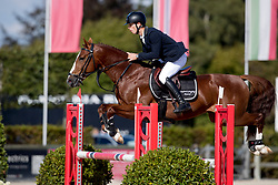 Prouve Simon, BEL, Lord Pleasure C<br /> BK Young Horses 2020<br /> © Hippo Foto - Sharon Vandeput<br /> 6/09/20