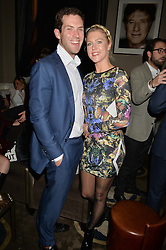 JEREMY SCOTT and SAM KERSHAW at the Tatler Little Black Book Party held at Home House Private Member's Club, Portman Square, London supported by CARAT on 6th November 2014.