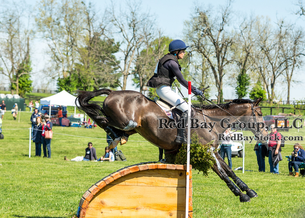 Hallie Coon (USA) and Celien during the cross-country at the 2019 Land Rover Kentucky Three-Day Event presented by MARS EQUESTRIAN in Lexington, Kentucky