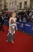 Kim Cattrall.  TV Bafta Awards. 21 April 2002. © Copyright Photograph by Dafydd Jones 66 Stockwell Park Rd. London SW9 0DA Tel 020 7733 0108 www.dafjones.com