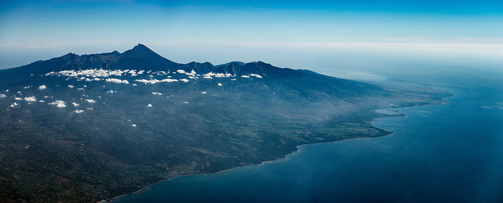 Mount Rinjani 3726m & North East Lombok, Nusa Tenggara Barat, Indonesia.