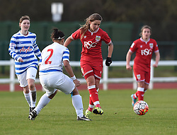 Tatiana Pinto of Bristol City Women - Mandatory by-line: Paul Knight/JMP - Mobile: 07966 386802 - 14/02/2016 -  FOOTBALL - Stoke Gifford Stadium - Bristol, England -  Bristol Academy Women v QPR Ladies - FA Cup third round
