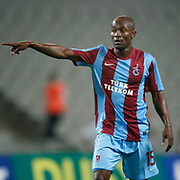 Trabzonspor's Deguy Alain Didier ZOKORA during their UEFA Champions League third qualifying round, second leg, soccer match Trabzonspor between Benfica at the Ataturk Olimpiyat Stadium at ›stanbul Turkey on Wednesday, 03 August 2011. Photo by TURKPIX