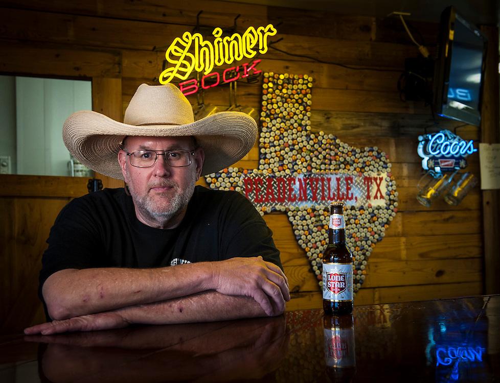 Jim McLennan of Hashknife on the Chisholm, Peadenville, Texas