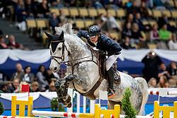 OPLATEK Andrzej (POL), Stakkatan<br /> München - Munich Indoors 2018<br /> Grosser Preis der Deutschen Kreditbank AG<br /> Finale DKB-Riders Tour<br /> 25. November 2018<br /> © www.sportfotos-lafrentz.de/Stefan Lafrentz