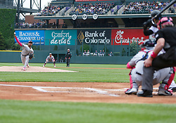 May 13, 2018 - Denver, CO, U.S. - DENVER, CO - MAY 13: Milwaukee Brewers relief pitcher Freddy Peralta (51) delivers a pitch during the first inning of a regular season MLB game between the Colorado Rockies and the visiting Milwaukee Brewers on May 13, 2018 at Coors Field in Denver, CO. (Photo by Russell Lansford/Icon Sportswire) (Credit Image: © Russell Lansford/Icon SMI via ZUMA Press)