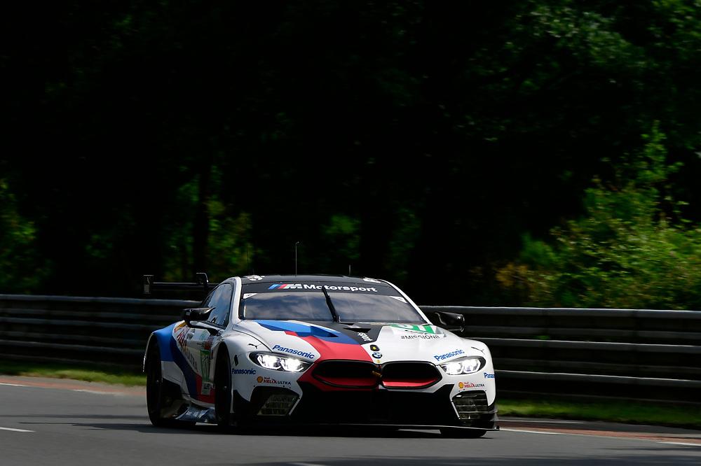 ]#81 BMW Team MTEK BMW M8 GTE: Martin Tomczyk, Nicky Catsburg, Philipp Eng<br /> Wednesday 13 June 2018<br /> 24 Hours of Le Mans<br /> 2018 24 Hours of Le Mans<br /> Circuit de la Sarthe  FR<br /> World Copyright: Scott R LePage