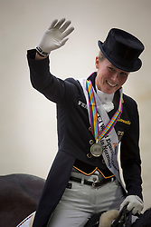 Charlotte, Dujardin, (GBR) - Dressage Kur to Music- Alltech FEI World Equestrian Games™ 2014 - Normandy, France.<br /> © Hippo Foto Team - Dirk Caremans<br /> 25/06/14