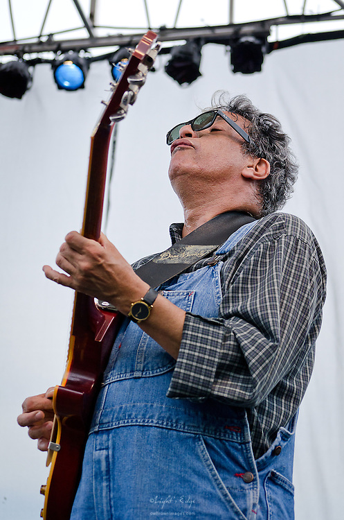 Chris Cain, nominated 4 times for a W.C. Handy Award, playing at the Riverfront Blues Festival in Wilmington, DE.