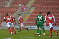 Richard Wood Goal ROTHERHAM 1-0 during the EFL Sky Bet Championship match between Rotherham United and Preston North End at the AESSEAL New York Stadium, Rotherham, England on 7 November 2020.