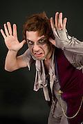 Dramatic Fear frightening man