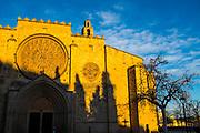 Monastery of Sant Cugat, Barcelona, Catalonia, Spain. Monestir de Sant Cugat, Catalunya, Espanya