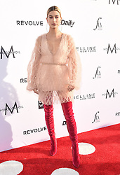 Guests arrive at the 3rd Annual Fashion LA Awards in Hollywood, California. 02 Apr 2017 Pictured: Hailey Baldwin. Photo credit: MEGA TheMegaAgency.com +1 888 505 6342