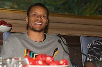 Friidrett<br /> 08.06.16<br /> Jordbærparty / Strawberry Party <br /> ExxonMobil Bislett Games <br /> IAAF Diamond League <br /> Andre De Grasse , CAN<br /> Foto: Astrid M. Nordhaug/Digitalsport