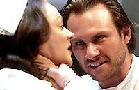 One flew over the Cuckoo's nest at the Gielgud theatreStarring Christian Slater, Francis Barber.
