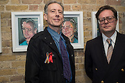 PETER TATCHELL; DARREN COFFIELD, Francis Bacon / Darren Coffield - Private view, HERRICK GALLERY, PICCADILLY, LONDON. 12 April