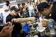 20171208/ Nicolas Celaya - adhocFOTOS/ URUGUAY/ MONTEVIDEO/ LATU/ 4ta edicion de Expocannabis en el LATU. <br /> En la foto: 4ta edicion de Expocannabis en el LATU.   Foto: Nicolás Celaya /adhocFOTOS