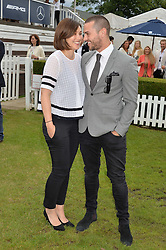 EMMA WILLIS and MATT WILLIS at the Laureus King Power Cup polo match held at Ham Polo Club, Richmond on 16th June 2016.