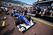 May 25-29, 2016: Monaco Grand Prix. Marcus Ericsson, Sauber