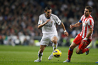 01.12.2012 SPAIN -  La Liga 12/13 Matchday 14th  match played between Real Madrid CF vs  Atletico de Madrid (2-0) at Santiago Bernabeu stadium. The picture show Angel di Maria (Argentine midfielder of Real Madrid)