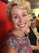 US Representative candidate, Chrissy Houlihan, 6th district, at Mi Casa Su Casa, Reading, Berks Co., PA