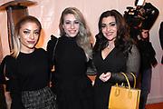 100% NL Awards 2018 in Panama, Amsterdam.<br /> <br /> Op de foto:  Lisa, Amy en Shelley Vol - O'G3NE
