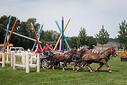 Voutaz Jerome (SUI) - Belle du Peupe, Eva III, Flore, Folie des Moulins, Leny <br /> Wohnwelt Pallen Marathon<br /> Weltfest des Pferdesports CHIO Aachen 2014<br /> © Hippo Foto - Dirk Caremans