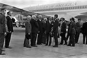 President John F. Kennedy arrives at Dublin Airport<br /> 26.06.1963