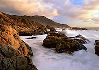 Storm along the Big Sur Coast, Garrapata State Park CA, USA.
