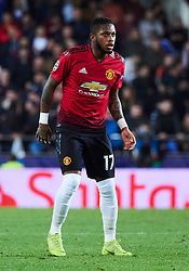 December 12, 2018 - Valencia, U.S. - VALENCIA, SPAIN - DECEMBER 12: Fred, forward of Manchester United looks during the UEFA Champions League group stage H football match between Valencia CF and Manchester United FC at Mestalla stadium on December 12, 2018, in Valencia, Spain. (Photo by Carlos Sanchez Martinez/Icon Sportswire) (Credit Image: © Carlos Sanchez Martinez/Icon SMI via ZUMA Press)