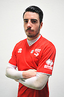 Anthony KASPARIAN - 16.09.2014 - Photo officielle Nimes - Ligue 2 2014/2015<br /> Photo : Icon Sport