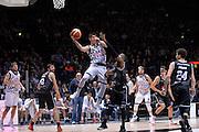 Leonardo Candi<br /> Segafredo Virtus Bologna - Kontatto Fortitudo Bologna<br /> Campionato Basket LNP 2016/2017<br /> Bologna 06/01/2017<br /> Foto Ciamillo-Castoria