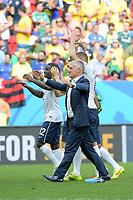 joie des francais en fin de match<br /> Didier Deschamps (Fra) - Entraineur