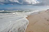 Waves roll ashore at Coast Guard Beach,Eastham