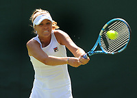 Tennis - 2019 Wimbledon Championships - Week One, Monday (Day One)<br /> <br /> Women's Singles, 1st Round: <br /> <br /> Sofia Kenin (USA) v Astra Sharma (Aus) on Court 14.<br /> <br /> Sofia Kenin (USA)<br /> <br /> COLORSPORT/ANDREW COWIE
