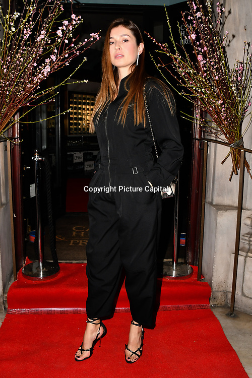 Marina Yaroslavska attend Travel bag brand hosts the launch of its exclusive luxury collection of handbags in collaboration with model and designer Anastasiia Masiutkina  D'Ambrosio