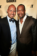 Emil Wilbekin and Jeff Friday at The Giant Magazine Party, celebrating cover girl Kimora Lee Simmons and new Editor-in-Chief Emil Wilbekin, the award-winning editor as he unveils his debut issue.