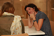 """Tamar """"Tami"""" Zandberg (born 29 April 1976) is an Israeli politician who currently serves as a member of the Knesset for Meretz. She was previously a member of Tel Aviv-Yafo City Council. Photographed at the Knesset, November 2015"""