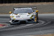 May 2-4, 2014: Laguna Seca Raceway. #80 Al Carter, Aleks Altberg, Mitchum Motorsports, Lamborghini of Palm Beach