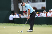 June 12 2013: Steven Alker's practices on the putting green during the wednesday practice round at the 2013 U.S. Open hosted by Merion Golf Club in Ardmore, PA.