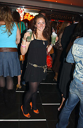 MISS NATASHA CORRETT daughter of interior designer Kelly Hoppen at a night of Cuban Cocktails and Cabaret hosted by Edward Taylor and Charles Beamish at Floridita, 100 Wardour Street, London W1 on 14th April 2005.<br /><br />NON EXCLUSIVE - WORLD RIGHTS