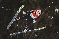 16.02.2020, Kulm, Bad Mitterndorf, AUT, FIS Ski Flug Weltcup, Kulm, Herren, Qualifikation, im Bild Daniel Huber (AUT) // Daniel Huber of Austria during his qualification Jump for the men's FIS Ski Flying World Cup at the Kulm in Bad Mitterndorf, Austria on 2020/02/16. EXPA Pictures © 2020, PhotoCredit: EXPA/ JFK