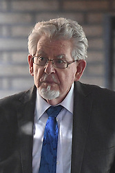 Rolf Harris leaves Southwark Crown Court where the jury has been sent out to consider its verdicts in the indecent assault retrial of the former entertainer.