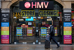 © Licensed to London News Pictures. 20/02/2013. London, UK. The Trocadero branch of struggling music, DVD and games retailer HMV is seen in London today (20/02/2013). The branch is one of 66 HMV scheduled for closure, with the loss of 930 jobs across the country, after the company's administrators Deloitte admitted they would not be seeking a buyer for the entire business.   Photo credit: Matt Cetti-Roberts/LNP