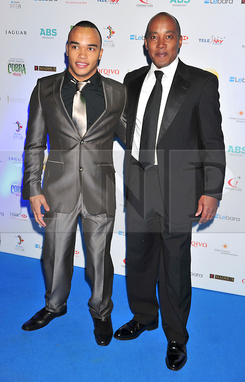© under license to London News Pictures. 04/03/11.Nick Hamilton  and Anthony Hamilton attend  Lebara British Asian Sports Awards , Saturday 5th March 2011 at the Grosvenor House Hotel, Park Lane, London. Photo credit should read alan roxborough/LNP